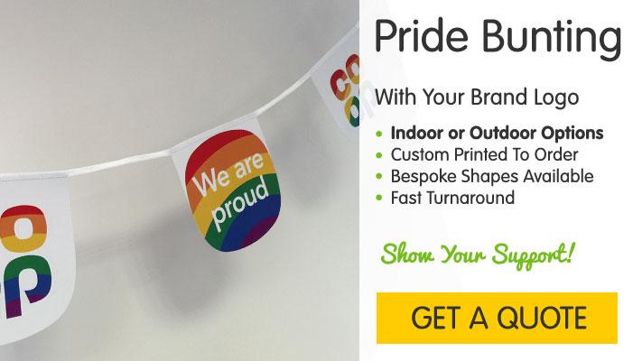 Custom Pride Bunting